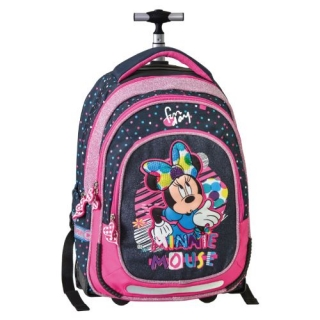 Junior ST batoh na kolieskach Smart Trolley Minnie Mouse Fabulous