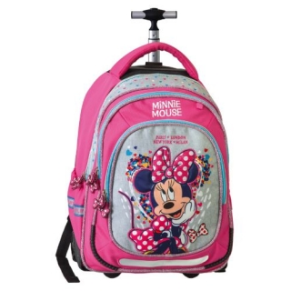 Trolley batoh na kolieskach Smart Minnie Mouse Fashion