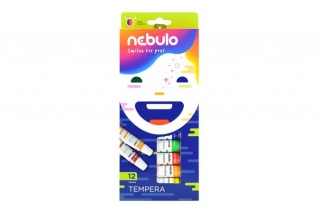 Tempera, 12 ks, NEBULO