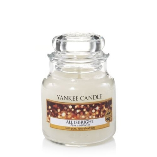 Sviečka Yankee Candle - All Is Bright, 104g