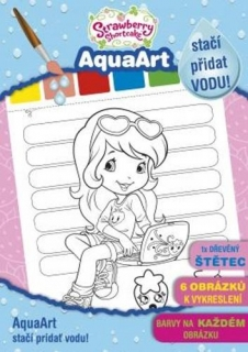 AquaArt Strawberry omalovánka