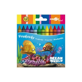 JUNIOR Voskovky Ocean World, 12 ks